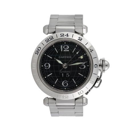 Cartier Pasha C GMT Automatic // 2550 // 764-TM10515 // c.2000's // Pre-Owned