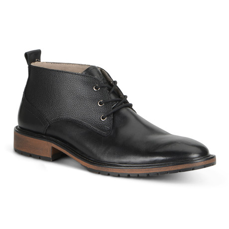 Essex Lace Up Boot // Black + Cymbal