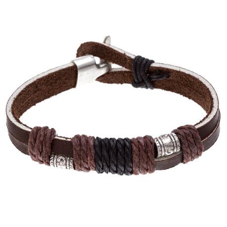 Double Bead Wrap Bracelet