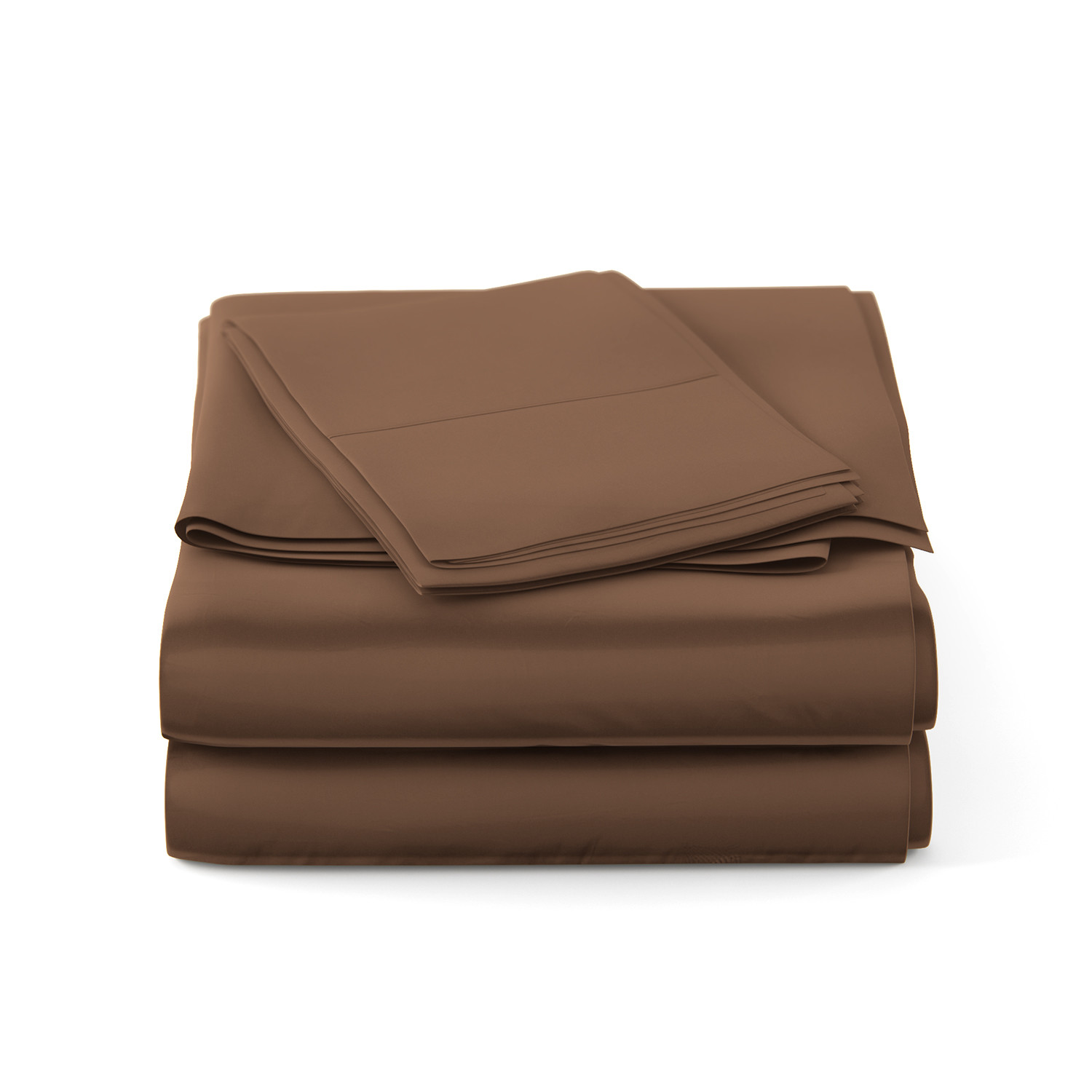 Luxury Bamboo Sheets Chocolate Double Bamboo Sheets