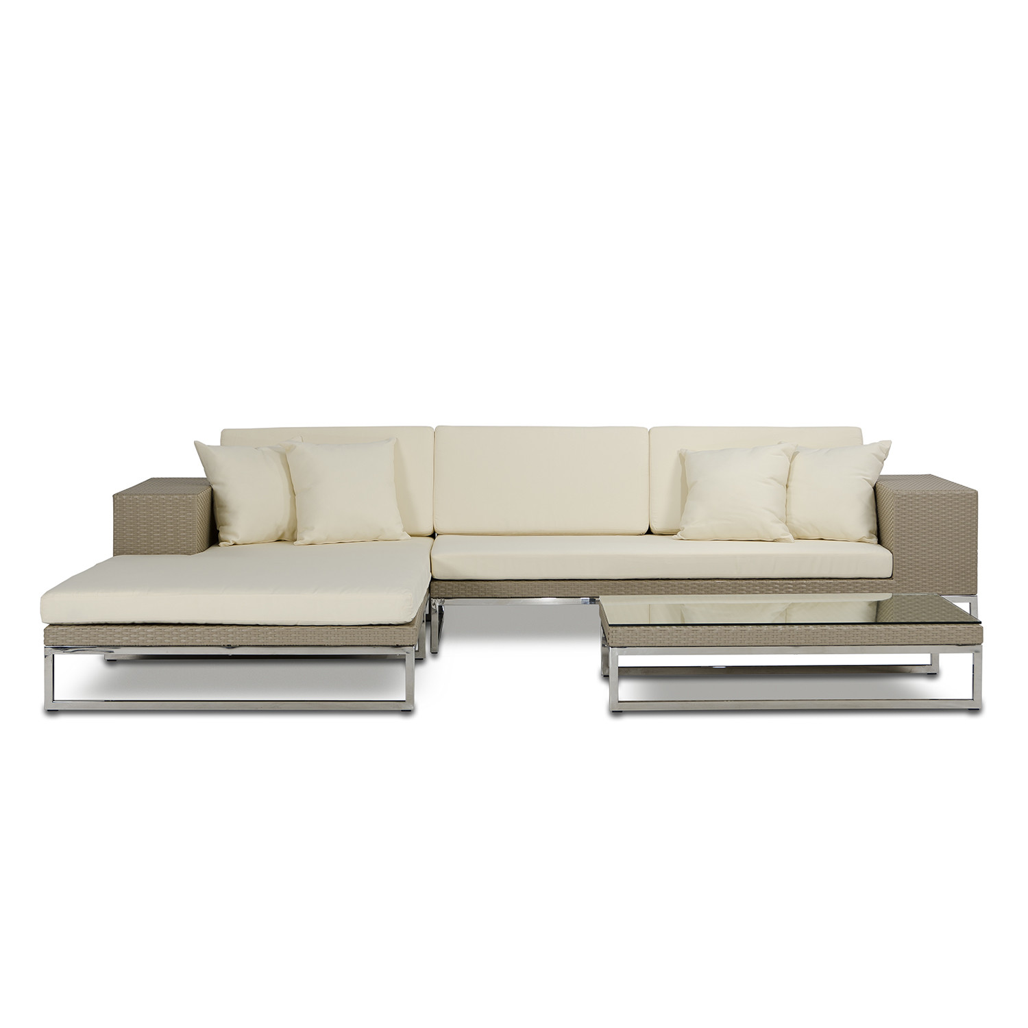 Renava limba modern patio sectional sofa vig touch of for Outdoor sofa sale