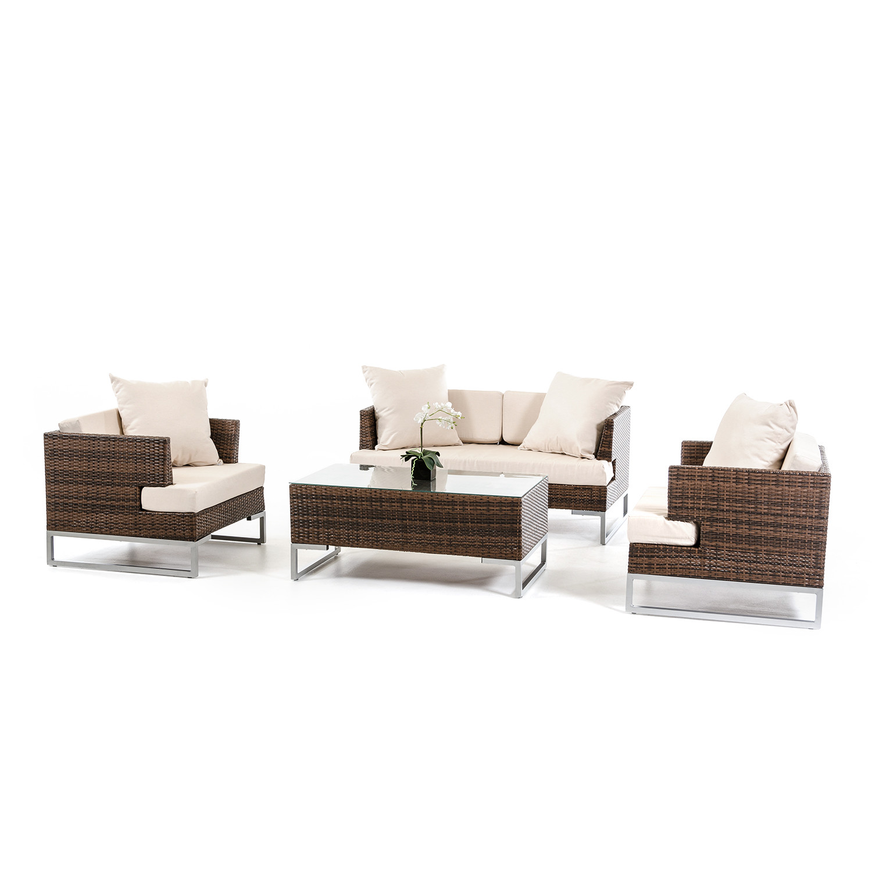 Renava modena outdoor sofa set vig touch of modern for Kitchen set modena