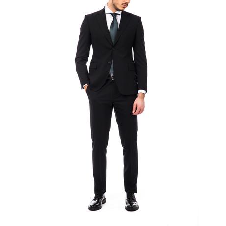 Pietro Classic Fit Suit // Black