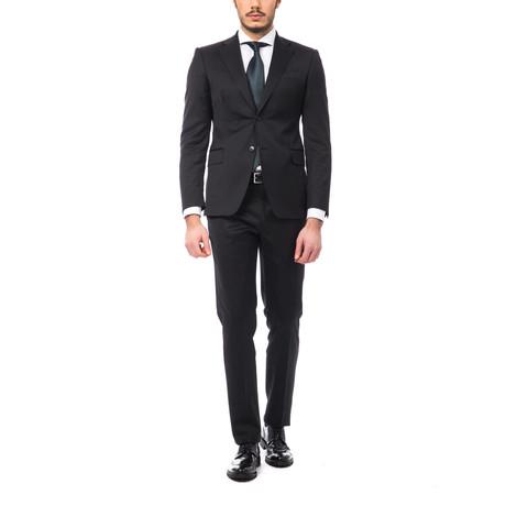 Gustavo Classic Fit Suit // Black