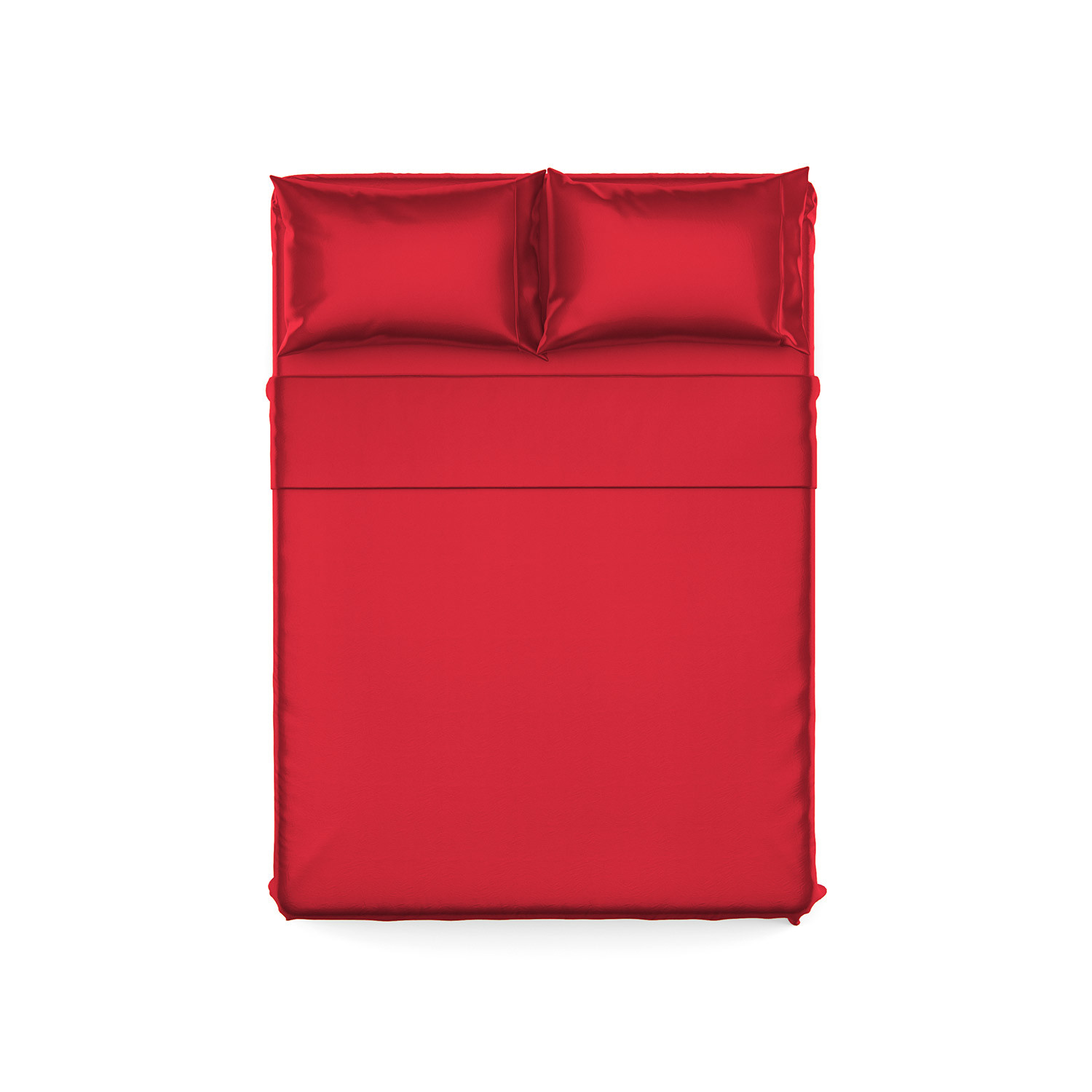 Luxury Bamboo Sheets // Brick Red (Queen) - Bamboo Sheets