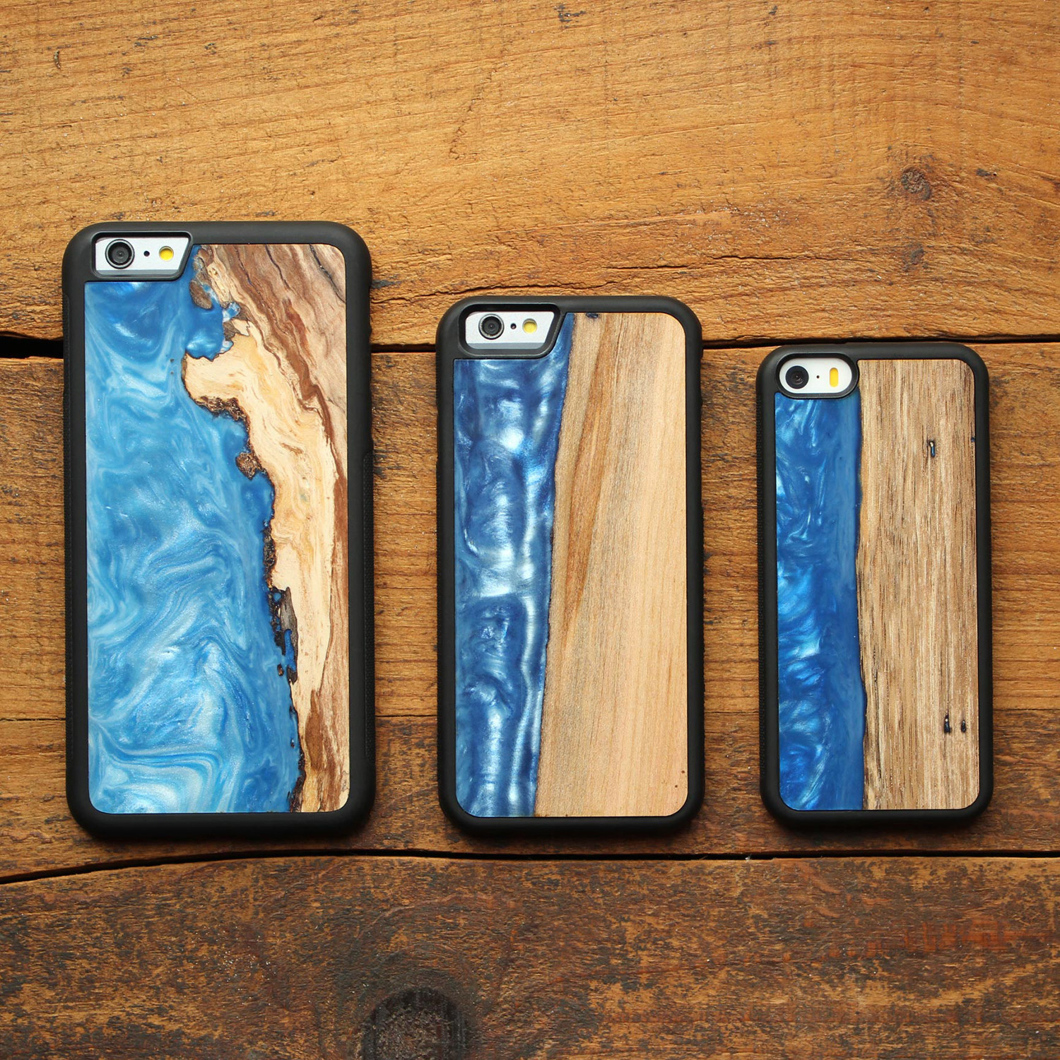 Wood Resin Iphone Case