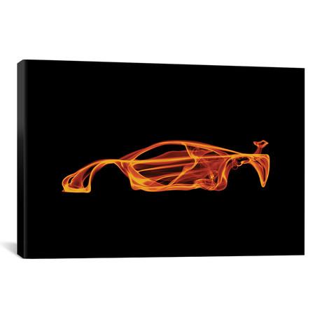 """McLaren F1 // Octavian Mielu (18""""W x 12""""H x 0.75""""D)"""