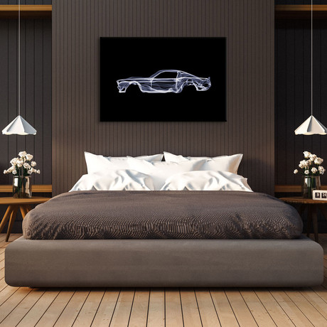 """Ford Mustang // Octavian Mielu (18""""W x 12""""H x 0.75""""D)"""