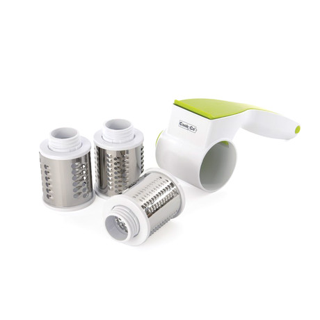 Rotary Cheese Grater Set // 4-Pieces