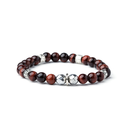 Dell Arte // Tiger Eye Bracelet // Multicolor