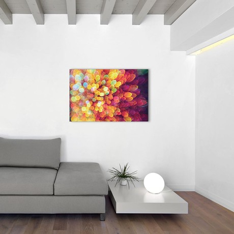 "Light And Shimmer Burst (26""W x 18""H x 0.75""D)"