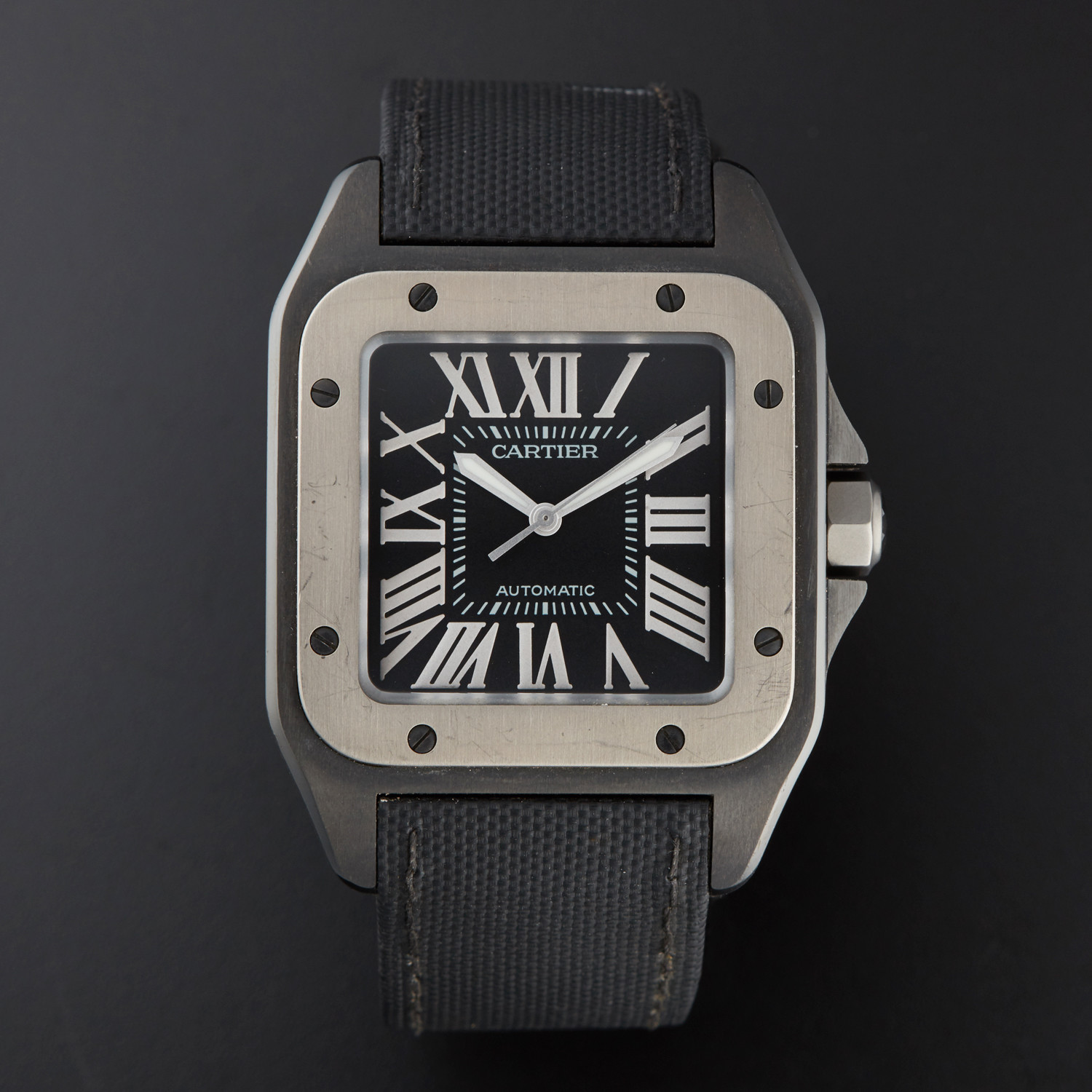 Cartier Santos 100 Large Automatic // 2656 // Pre-Owned