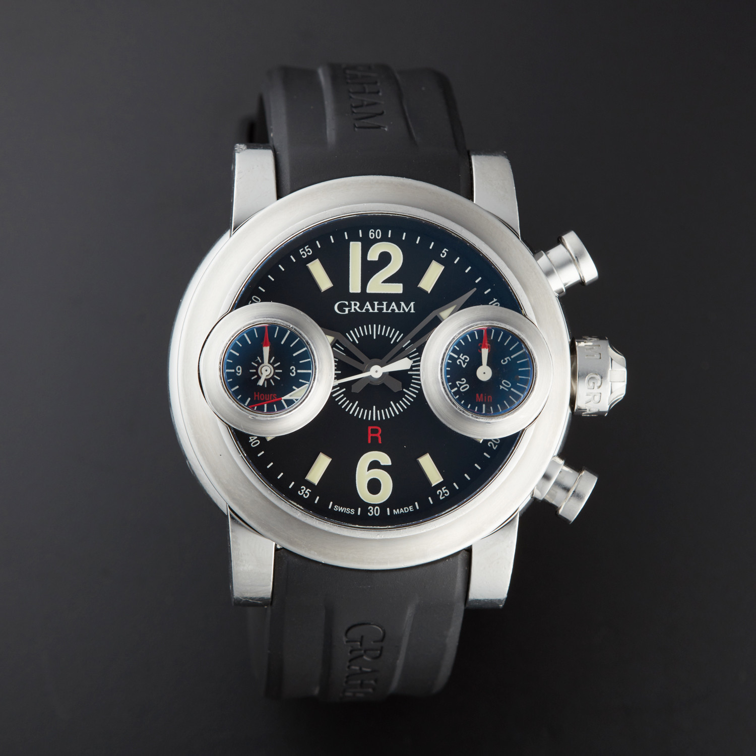 carbon in oversize samuels graham grapevine chronofighter marc superlight watches soldat men