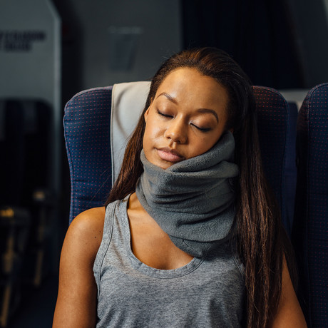 Travel Pillow // Grey