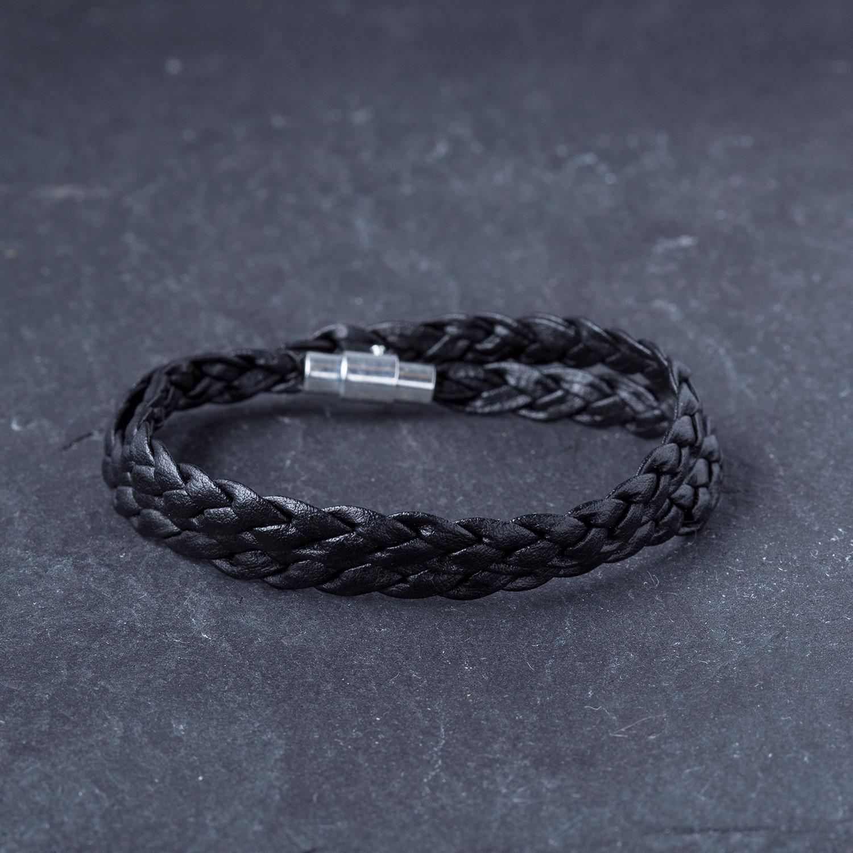 Square Charm Bracelet: Square Bead Bracelet Set // Red