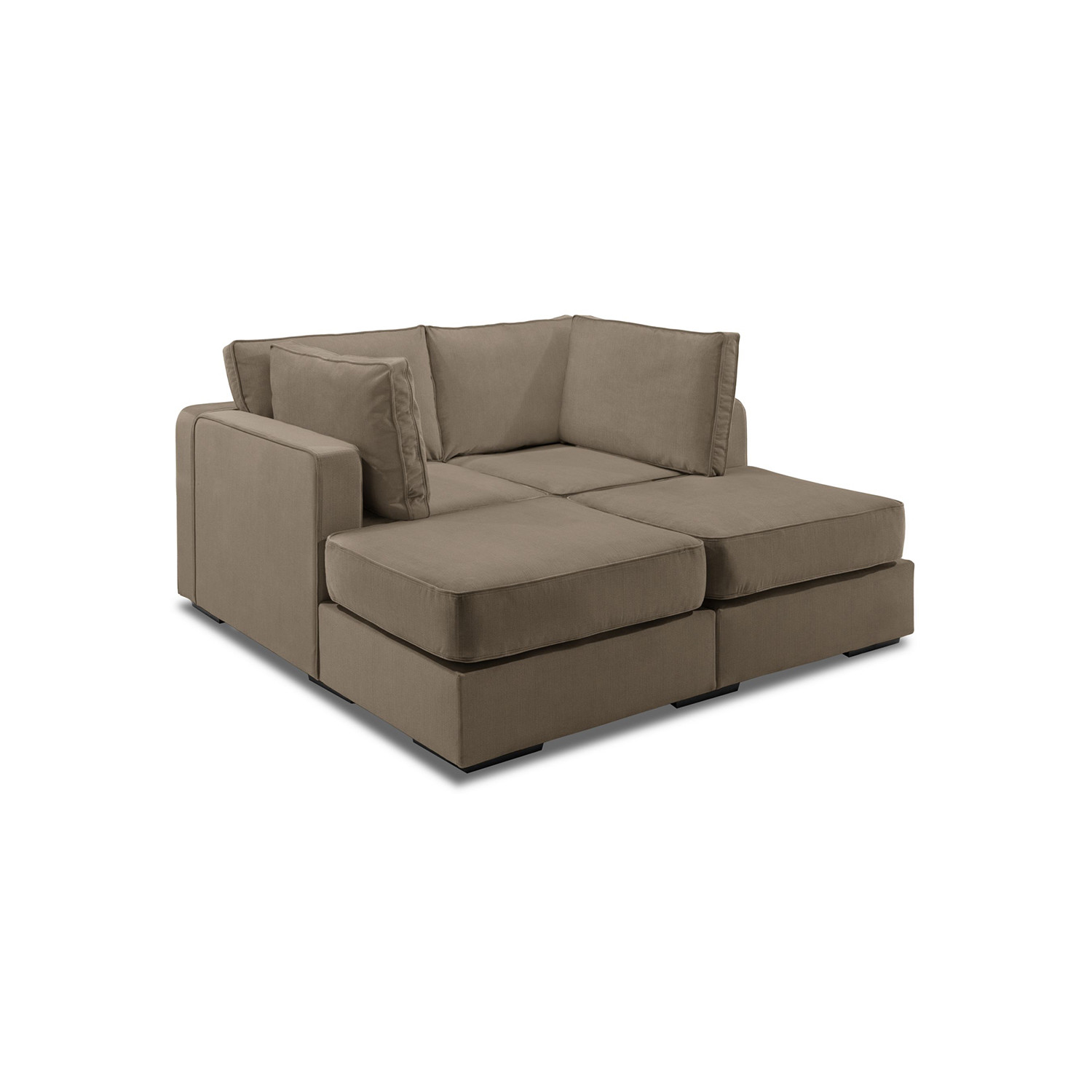 5 Series Sactionals // M Lounger (Taupe)