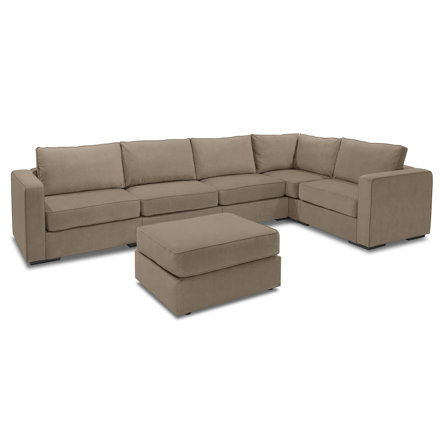 Remarkable 5 Series Sactionals Large L Sectional Taupe Lovesac Unemploymentrelief Wooden Chair Designs For Living Room Unemploymentrelieforg
