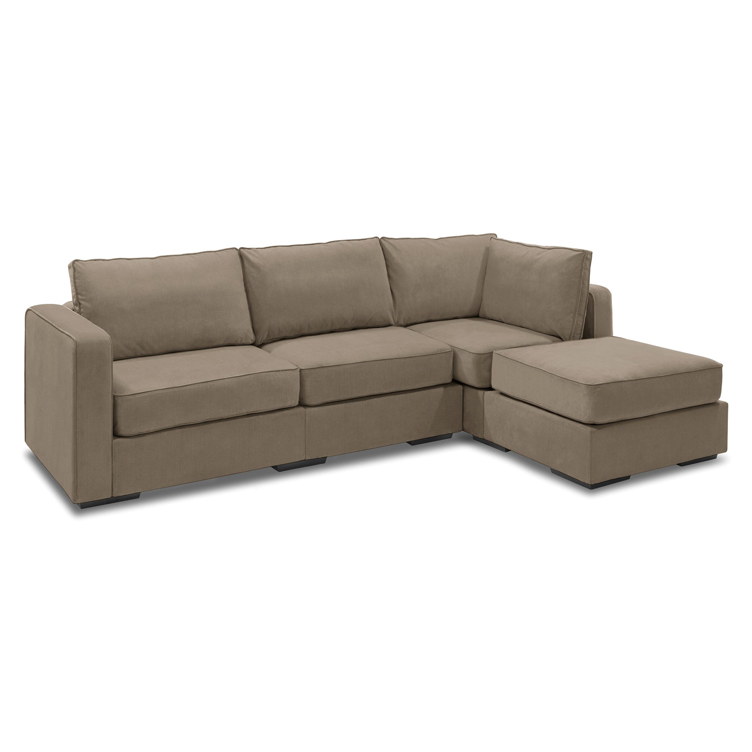Lovesac Sofa For Sale: 5 Series Sactionals // Chaise Sectional (Taupe)