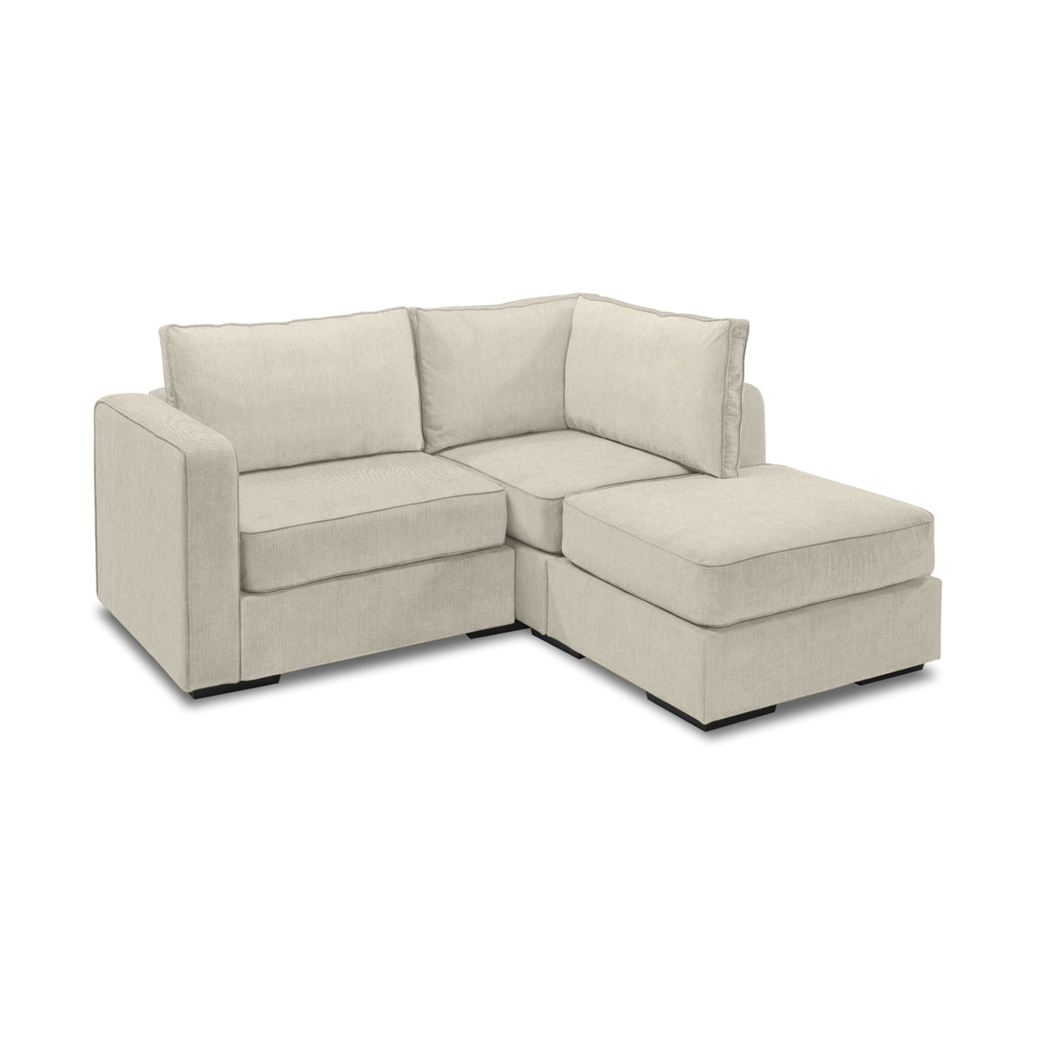 5 Series Sactionals Small Sectional Taupe Lovesac