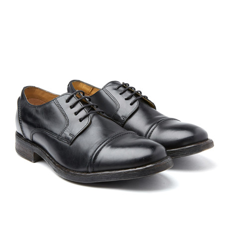 Dales Burnished Derby // Black