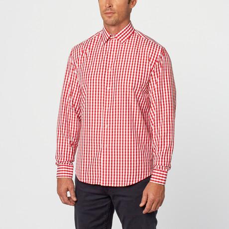 Tony Gingham Plaid Shirt // Red