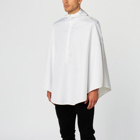 Poncho // White