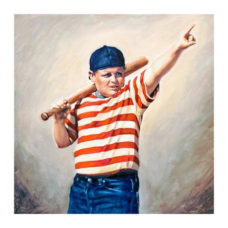 "The Great Hambino (15""W x 15""H)"