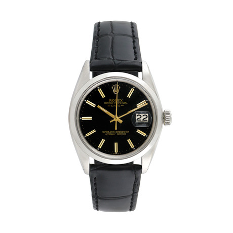 Rolex Date Automatic // 1500 // 760-A6313524 // c.1950's // Pre-Owned