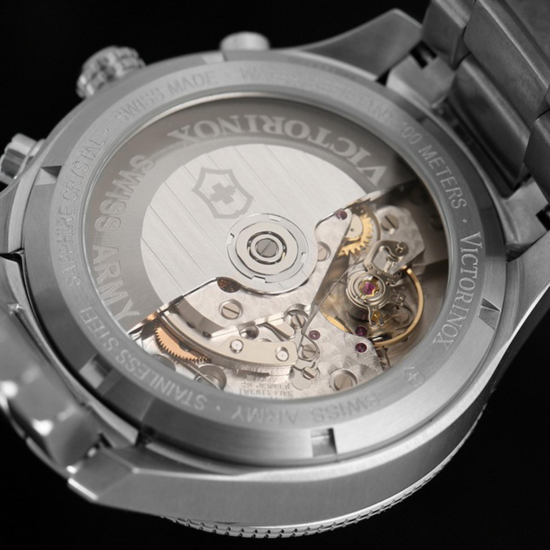 victorinox ambassador clous de paris automatic chronograph sw2