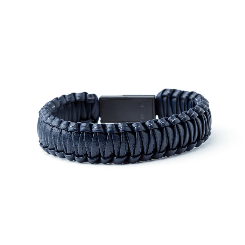 Usb Interlocked Bracelet Blue