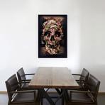 """Jungle Skull (18""""W x 26""""H x 0.75""""D)"""