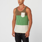 Amibuous Clothing // Garrix Tank // Green (S)