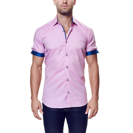Fresh Elegance Dress Shirt // Pink