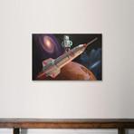 "Rocket Surfer // Eric Joyner (18""H x 26""W x 0.75""D)"