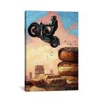 "Dark Rider Again // Eric Joyner (26""W x 18""H x 0.75""D)"