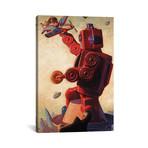 "Robo Kong // Eric Joyner (26""W x 18""H x 0.75""D)"