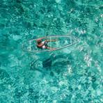 Crystal Kayak // 2 Seats + 2 Paddles (Unassembled)