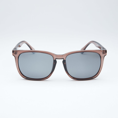 Polarized Modified Wayfarer // Grey + Light Flash