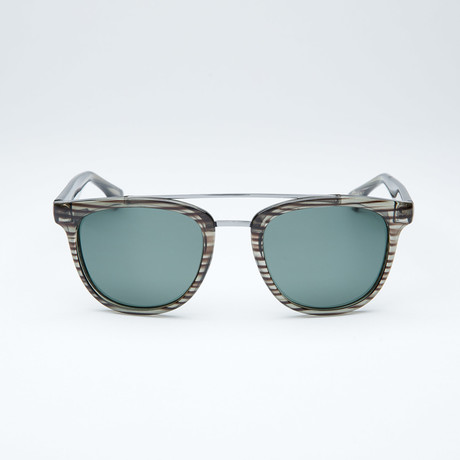 Polarized Modified Wayfarer // Grey