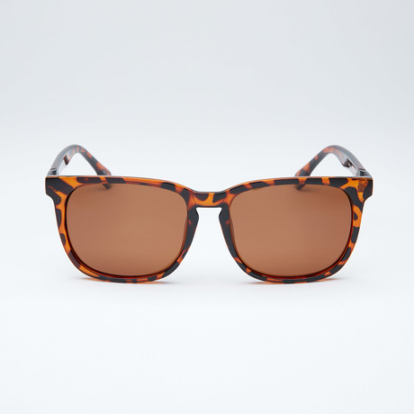 Polarized Modified Wayfarer // Brown