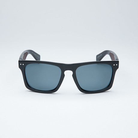 Polarized Modified Wayfarer // Black