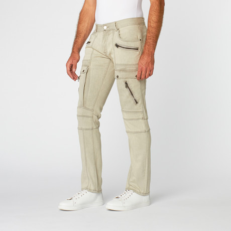 Zipper Pant // Grey