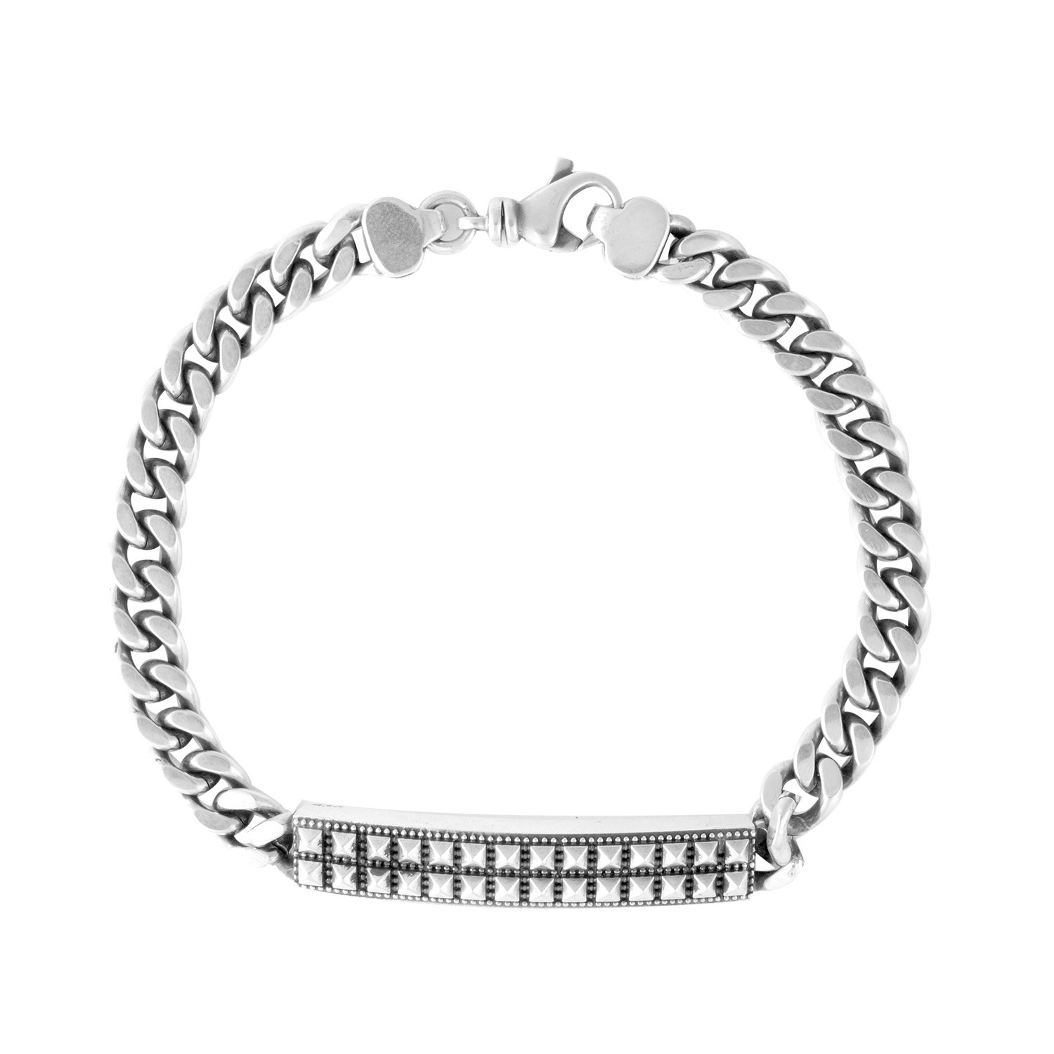 Curb link id bracelet king baby touch of modern for King baby jewelry sale