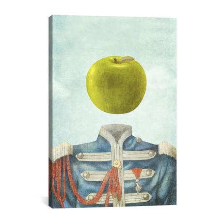 """Sgt. Apple // Terry Fan (26""""W x 40""""H x 1.5""""D)"""