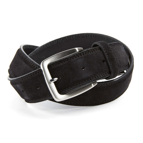 Forlì Top Stitch Belt // Black