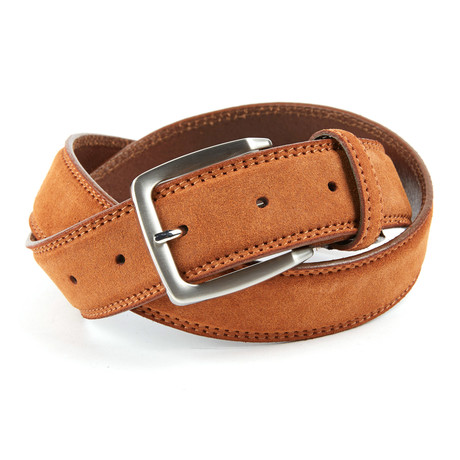 Forlì Top Stitch Belt // Tan