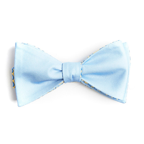 Blue Balls Bow Tie // Yellow + Blue