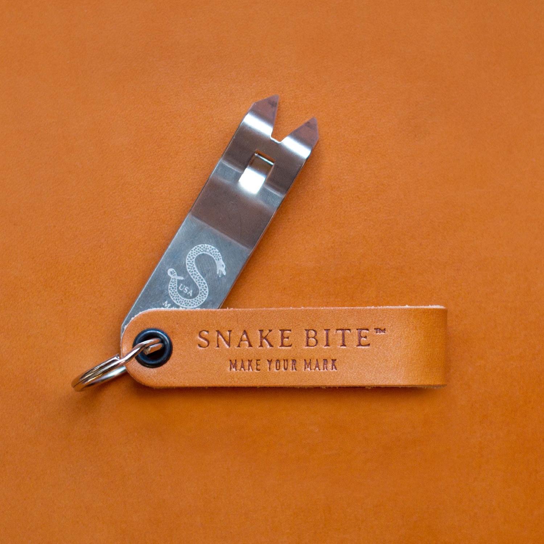 snake bite keychain bottle opener barley leather hardline sitewide clearance touch of modern. Black Bedroom Furniture Sets. Home Design Ideas