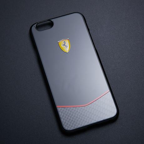 Scuderia Ferrari Hard Case // Black Carbon Fiber Base