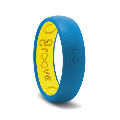 Silicone Rings Midnight Blue